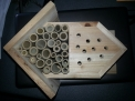 Native bee house