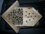 Native bee house