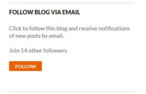 Follow via email - no need to sign up