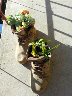 These boots were made for... Planting of course!