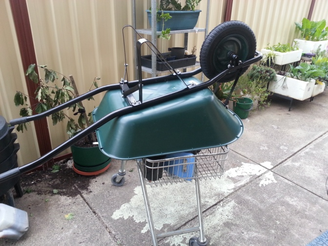 John's Garden Reno 1: The Wheel Barrow!