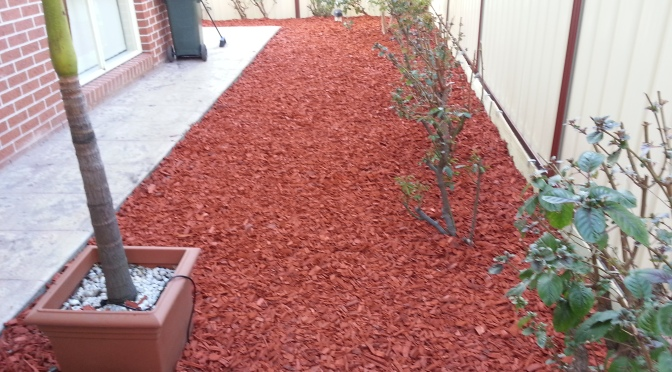John's Garden Reno Update 3: 3000L of Mulch!